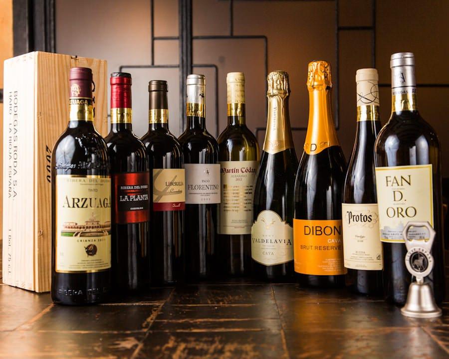 スペイン直送の珍しいワインなど 多数ご用意しております!