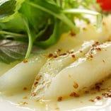 白アスパラガスのミックスサラダ