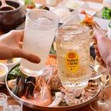 [焼肉×本格韓国料理] 本場の味をご宴会コースでご堪能ください