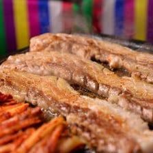韓国料理と言えば!サムギョプサル!