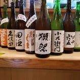 日本酒や焼酎など、名の知れた銘柄をご用意いたしました。