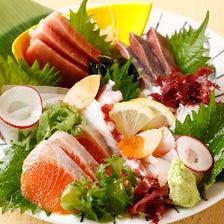 ◆柏市場より直送◎鮮度抜群な魚介類