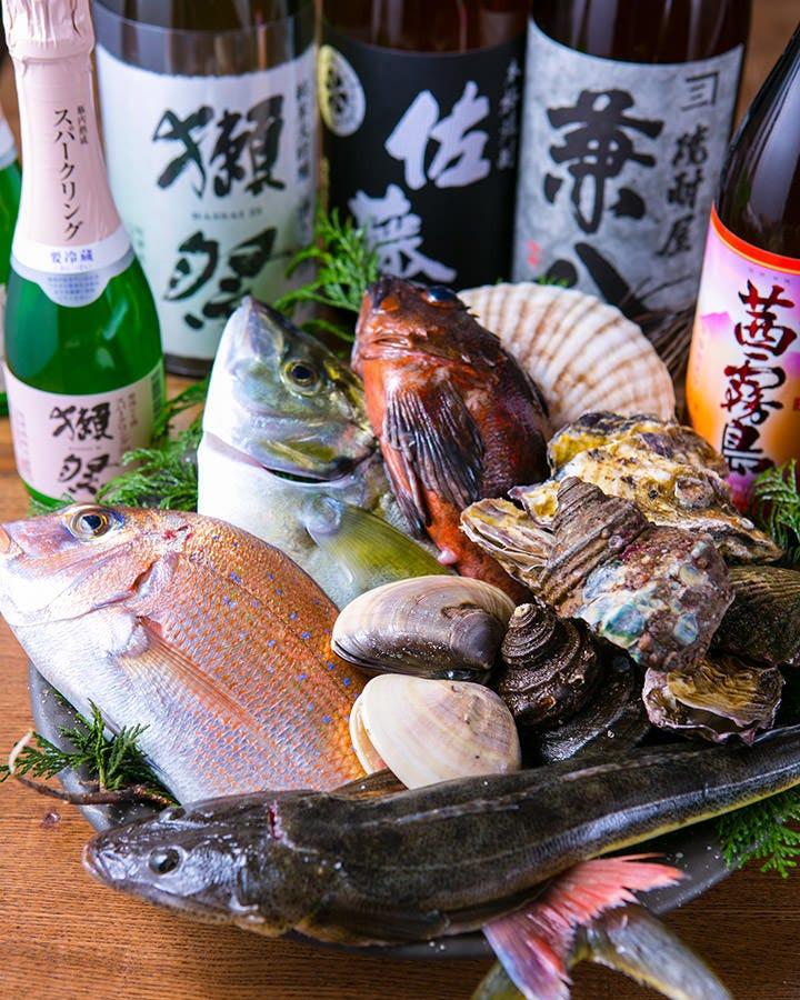 明石昼網の鮮魚!!