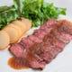 希少部位♪牛みすじのステーキ!!当店1番人気のお肉料理♪