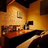 掘りごたつ式個室や半個室、カップル個室もございます