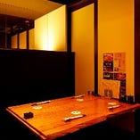 【掘りごたつ式完全個室】大切な接待・会食におすすめの席|4名様×2部屋
