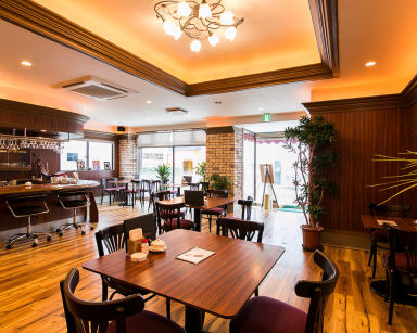 cafe excellen  店内の画像