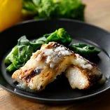 白身魚の塩麹グリル