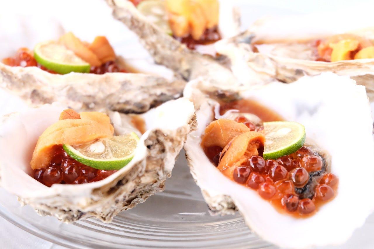 横浜牡蠣とトロとご褒美 美海寿司
