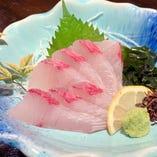 刺身単品(真鯛刺/カンパチ/サーモン)各種