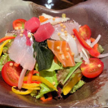 【数量限定】えくぼオリジナル 新鮮 海鮮サラダ