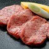 大人気の厚切り牛タンは食べ応えがあります!
