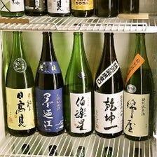 宮城県の地酒を堪能できる