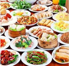 人気!新メニュー追加『オーダー式中華158品食べ放題』3,278円 → 2,178円