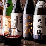 【地酒を楽しむ】 全国各地から厳選したこだわりの日本酒30種!