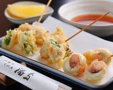 旬の野菜・変わり種の天ぷら