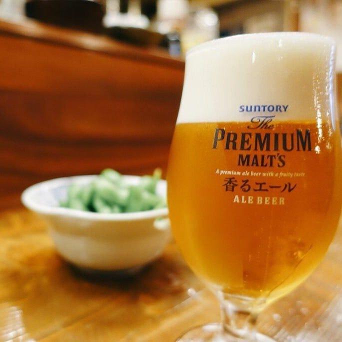 神泡超達人認定店が提供するビール