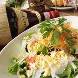 有機野菜のサラダ