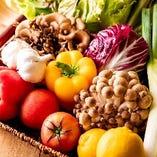 野菜は有機野菜を使用