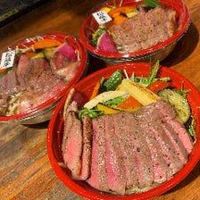 お家で松阪牛の絶品和牛ステーキ丼