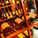 【ワイン】 店長セレクトワイン60種以上。マリアージュもお任せ