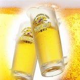 ビール、ハイボール、カクテル等ドリンクも豊富にご用意!