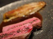 洗練された調理の肉料理