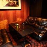 「ステージルーム」一番奥のVIP席(6名様)