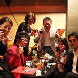 歓送迎会、新年会、女子会、合コン JIMMY様、貸切&お食事特典でのご宴会有り難うございました。