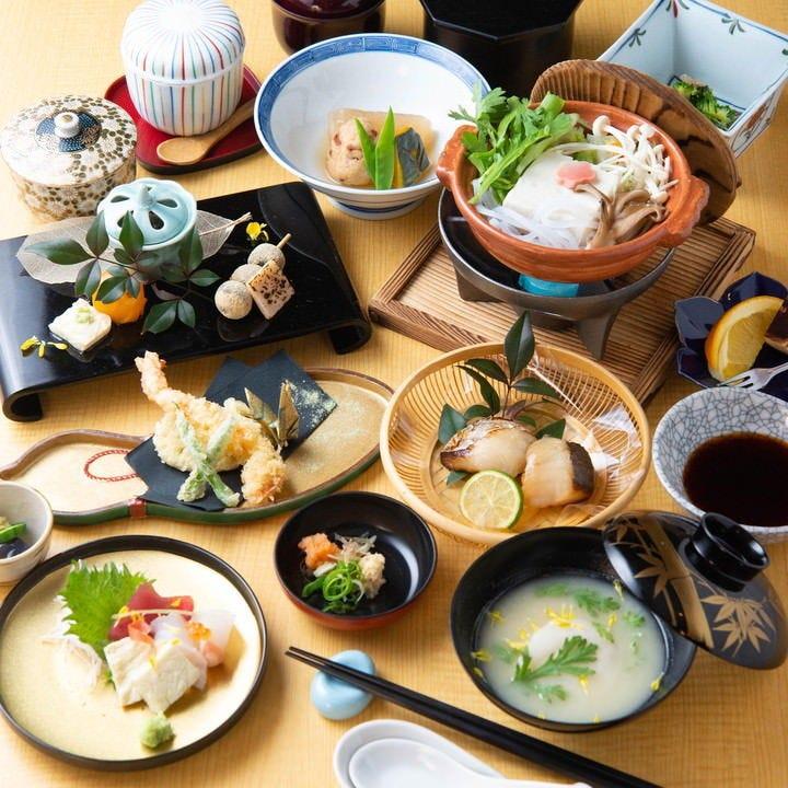 京都の伝統と美味を揃える「京料理」