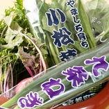京野菜を使用した優しい懐石料理が自慢です。