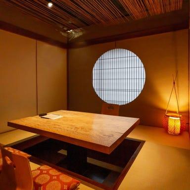 日本料理 波勢  店内の画像