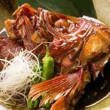 毎朝小田原から仕入れる 美味い魚