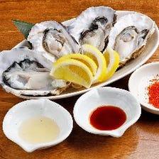 鮮度自慢◎一年中食べられる新鮮牡蠣