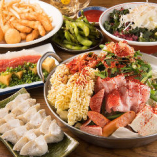 ◆鉄鍋餃子・もつ鍋を堪能できる博多宴会コースは3,500円から♪