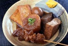 『四国の黒おでん』他、一品料理40種