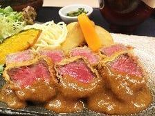 京都姫牛レアカツランチ