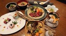 京都姫牛を使った季節のコース  (11月1日より内容が少し変わります。)