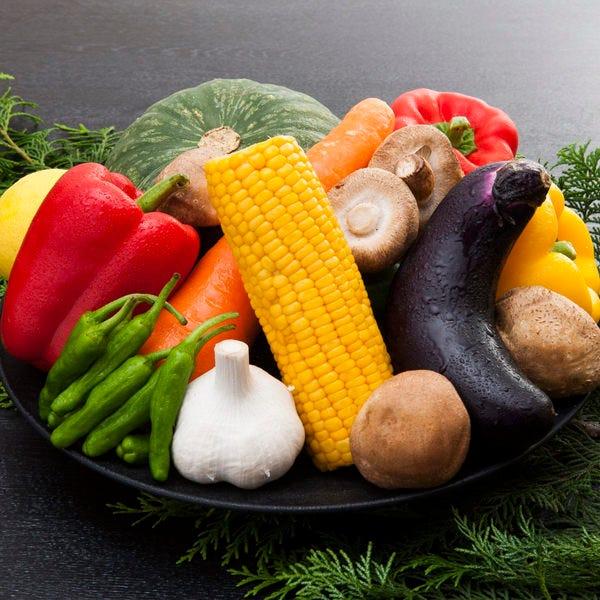 野菜も新鮮なもののみを厳選して使用◎盛り合わせがオススメです