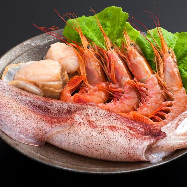 海鮮や野菜、一品、ご飯などお肉以外のメニューも充実!