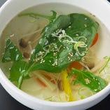 特製野菜スープ