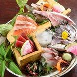 おすすめ鮮魚5点盛り