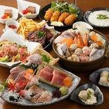 ノドグロと海鮮鍋コース