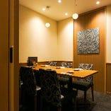 【6名様〜12名様】和モダンで落ち着いた雰囲気の個室席