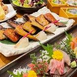 2h飲み放題付宴会コースは4500~6500円までご用意しております。