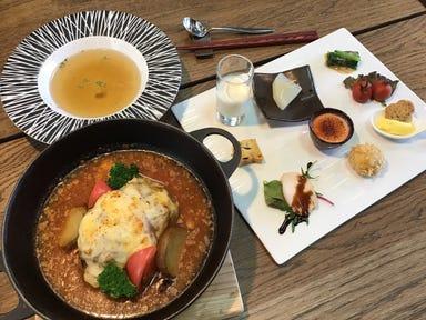 お箸で食べる和フレンチ&カフェ そられ 千葉市緑区古市場 メニューの画像