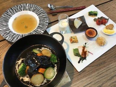 お箸で食べる和フレンチ&カフェ そられ 千葉市緑区古市場 コースの画像