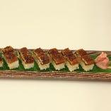 うなぎの押寿司