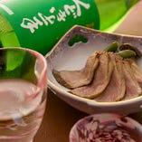 日本酒と相性抜群なお料理をご用意しております。