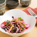 初秋の彩り野菜たち ~バルサミコとオリーブオイル~